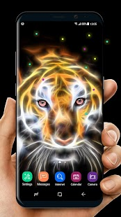 Lion Magic Touch Livewallpaper 2018 - náhled