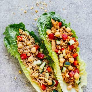 On-The-Go Tuna Lettuce Wraps (2 Ways).