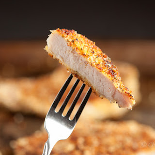 PARMESAN PANKO CRUSTED PORK CHOPS