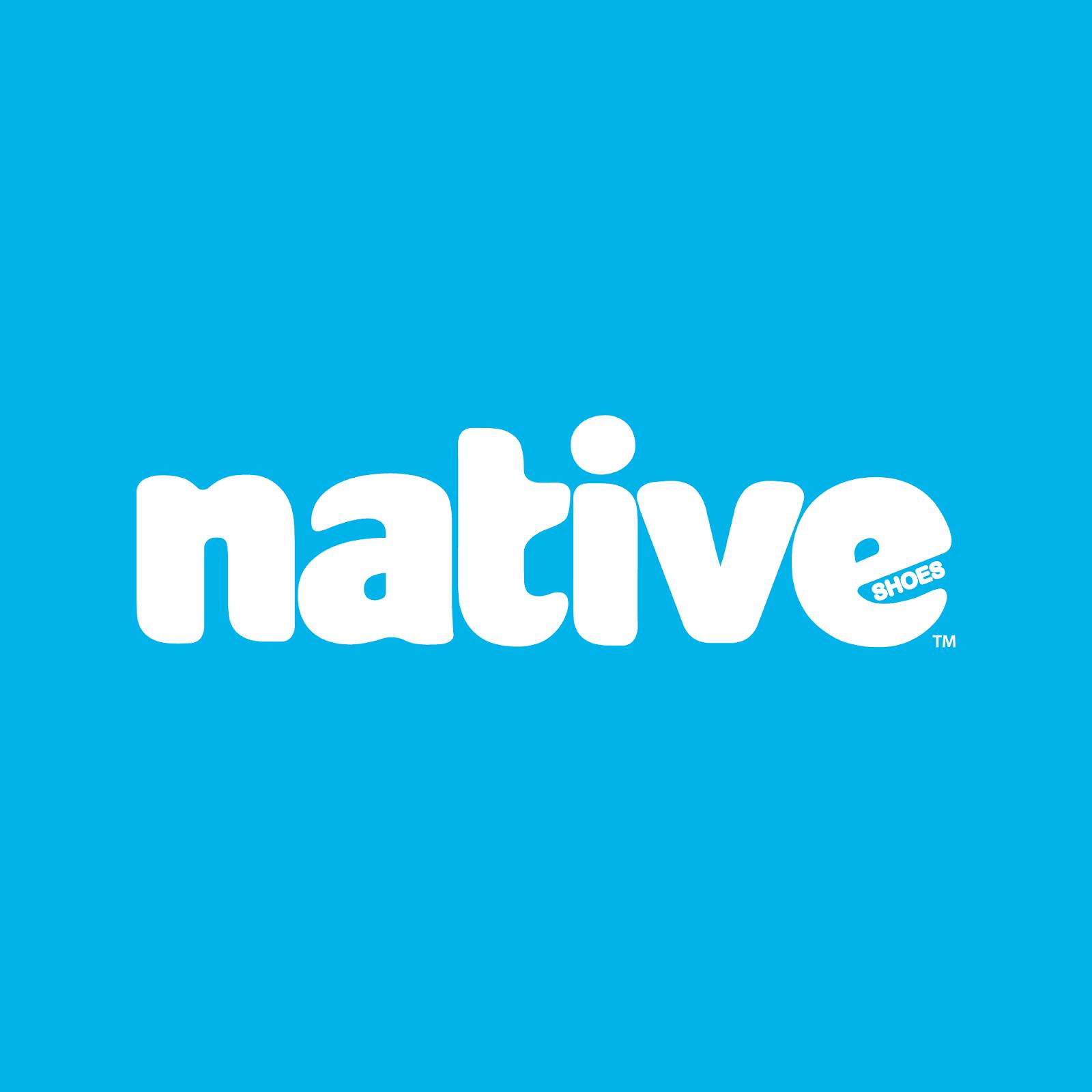 Design de logo de Native Shoes, une des marques éco-responsables de notre liste