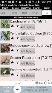 Big Year Birding- screenshot thumbnail