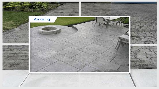 Amazing DIY Concrete Walkway - náhled