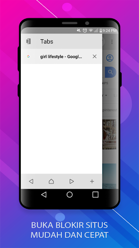 Lexi Browser Anti Blokir - Unblock without VPN 2.2.3.6 screenshots 5
