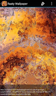 Rusty Wallpaper - náhled