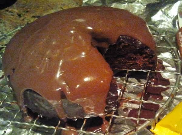 Mini Chocolate Cake With Ganache