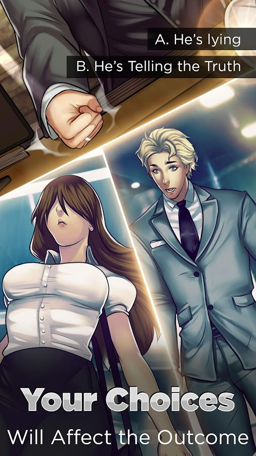 Otome: Is-it Love? Gabriel – Interactive Story- screenshot