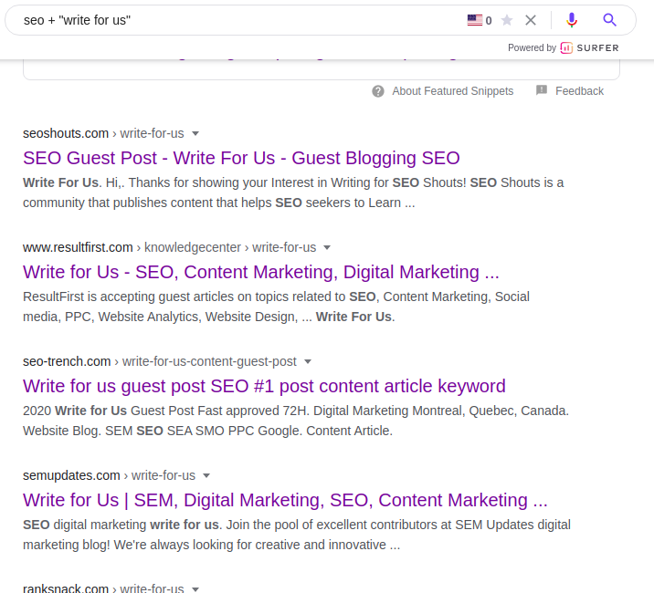 SEO Link Building Guest Posts