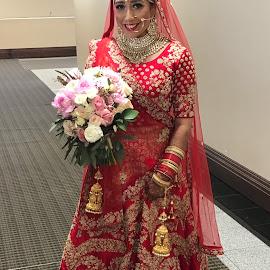 Wedding day by Wiseman Neil - Wedding Bride