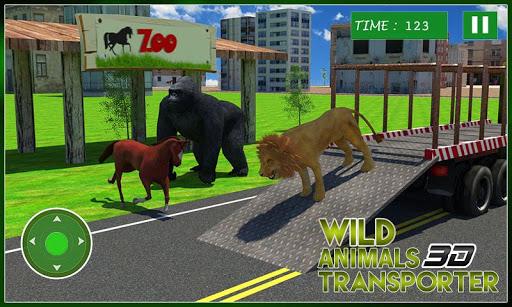 Wild Animal Transporter Truck