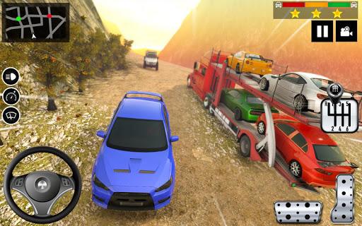 Car Transporter Truck Simulator-Carrier Truck Game apktreat screenshots 2