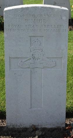 Robert Muir grave