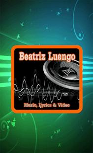 Beatriz Luengo Canciones - náhled
