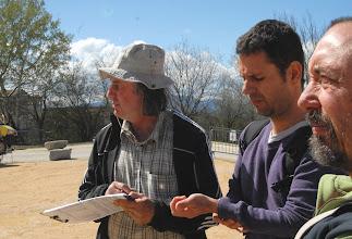 Photo: 1er Forum à la Transition énergétique & écologique - Collectif Ardèche - les 13/14 avril 2013 à Villeneuve-de-Berg 07 - Le village des Possibles avec Alain & Fabien - © Olivier Sébart
