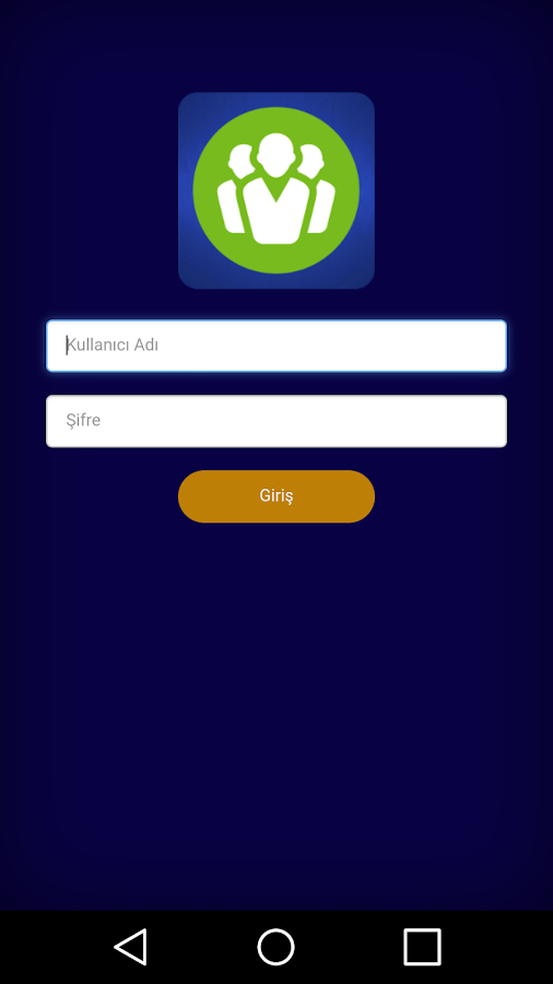 Service App- screenshot