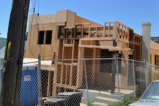 Photo: New porch framing complete.
