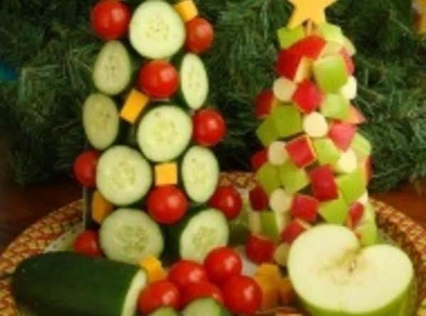 Vegetable Christmas Tree Recipe