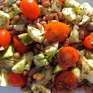 Cowpeas with Za'atar