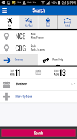 Screenshot of Amadeus e-Travel Management