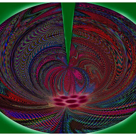 Abstract Composition #44 by Morris Kleyman - Abstract Patterns ( abstract, patterns, colors, compositions..., manipulation,  )