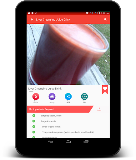 Juice Recipes for Android apk 19