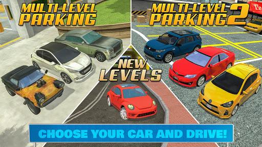 Multi Level Car Parking Games 3.2 screenshots 5