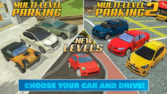 Multi Level Car Parking Games App Download For Android and iPhone 5