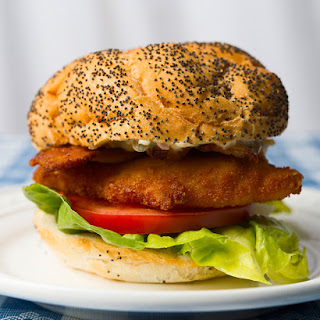 A Simple Fish Sandwich