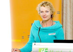 Photo: Linda Reijerkerk from the European Mediation Network Initiative (Netherlands)