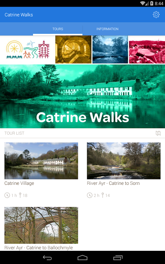 Catrine Walks - Audio tours- screenshot