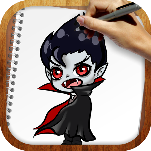 教育App|Draw Vampires LOGO-3C達人阿輝的APP