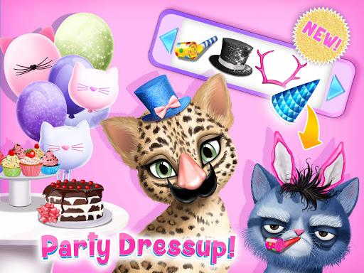 Cat Hair Salon Birthday Party - Virtual Kitty Care 6.0.20 screenshots 14
