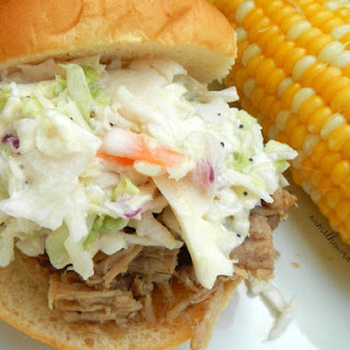 Sweet Pork & Slaw Sandwich