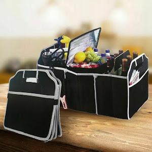 Organizator pentru portbagaj, 3 compartimente