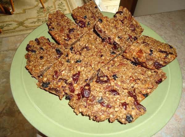 Energy Granola Bars Recipe