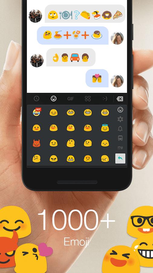 Screenshots of TouchPal Emoji Keyboard for iPhone