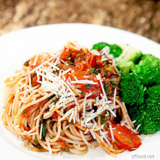 DELICIOUS Vegetable / Vegetarian Spaghetti