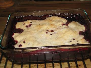 Deep Dish Blackberry Pie