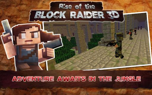 Rise of the Block Raider 3D