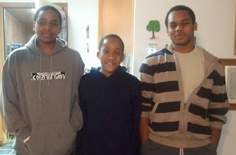Photo: Miles, Jihad & Kamau. 1/8/12