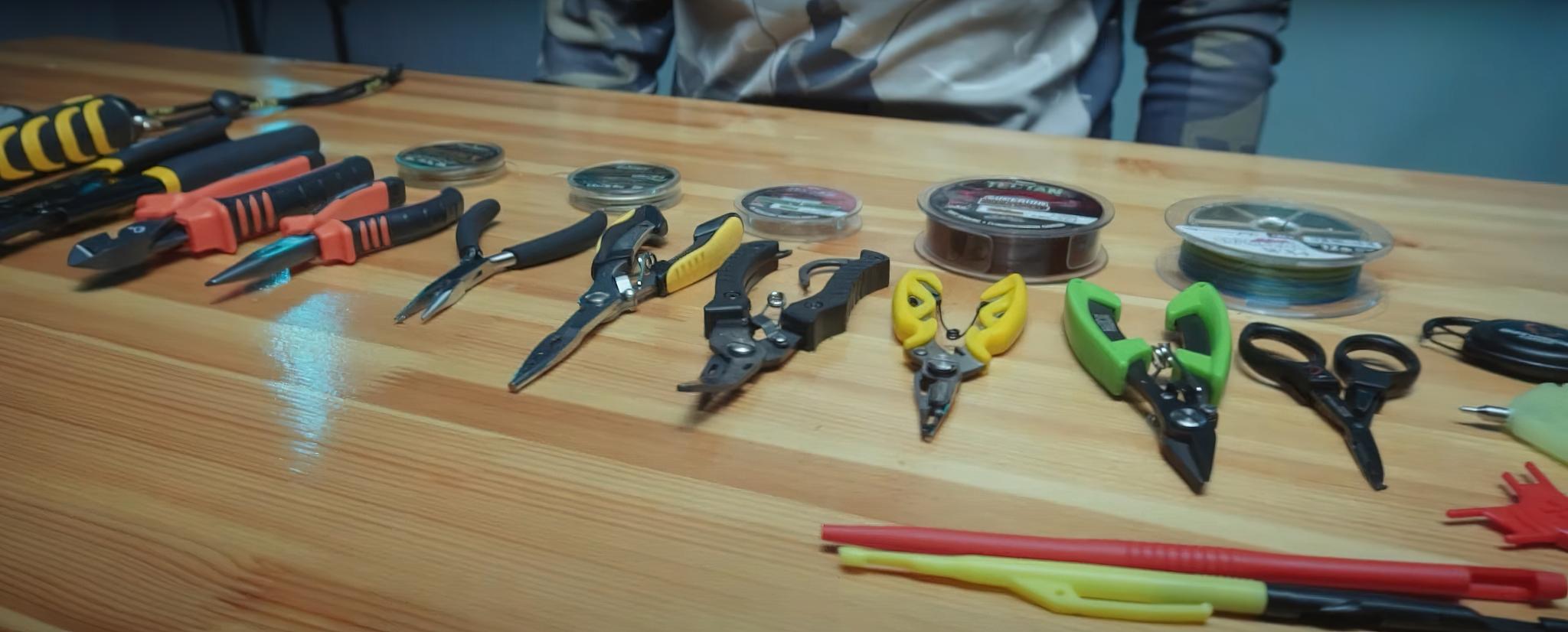 Инструменты рыболова. Новое видео