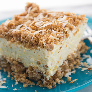 Pina Colada Crunch Cake.