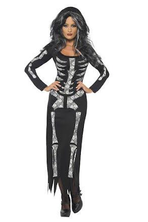 Skelettklänning