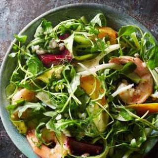 Beet & Shrimp Winter Salad