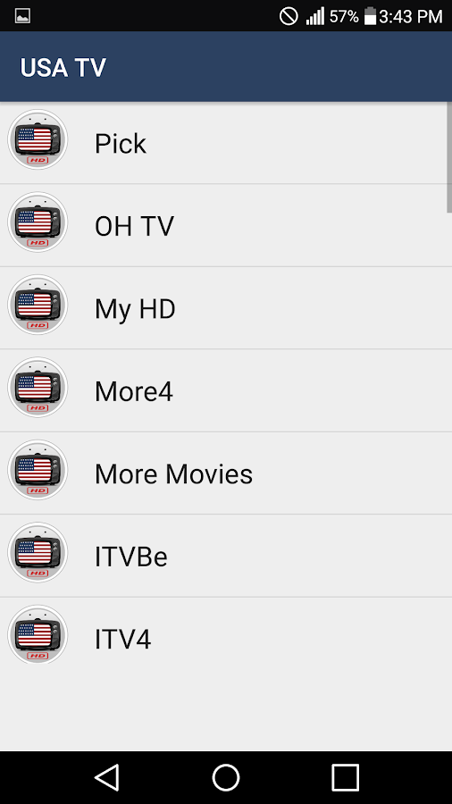 USA TV All Channels in HQ- screenshot