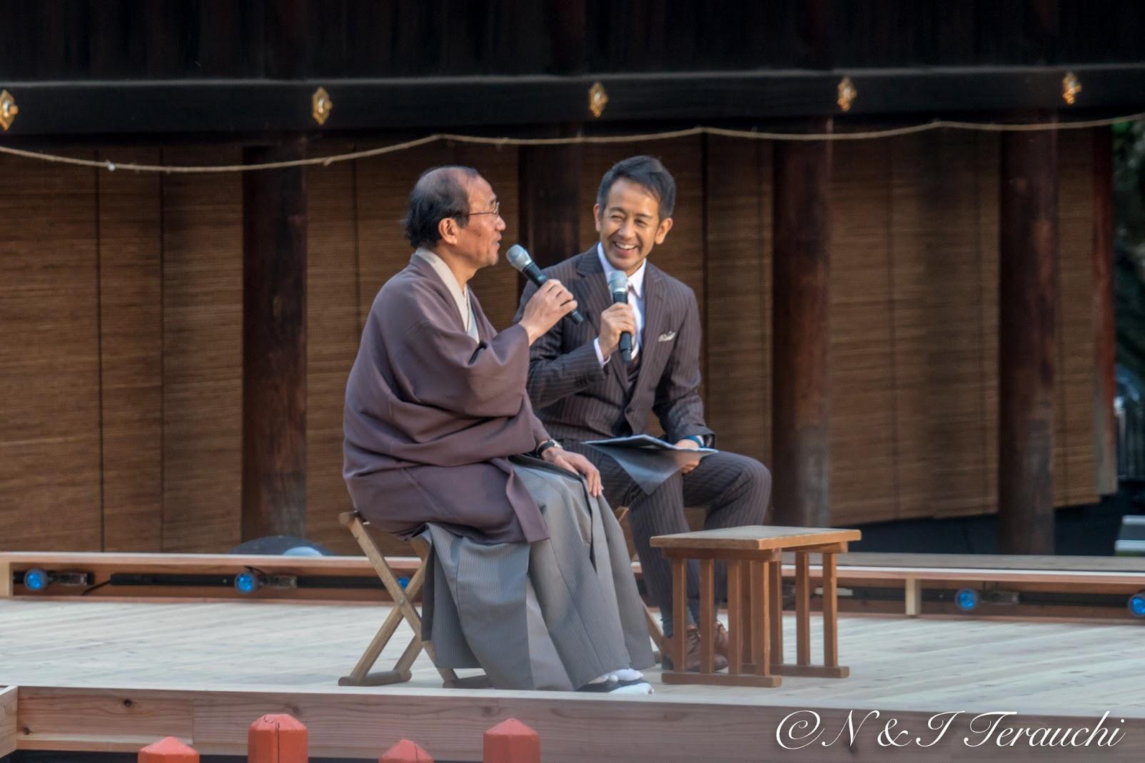 京都市・門川大作 市長との舞台前のお話