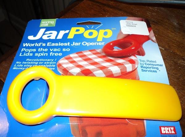 Jarpop...kitchen Gadget You Will Love! Recipe
