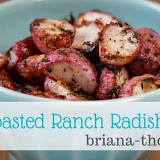 Roasted Ranch Radishes.