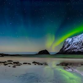 Lofoten Island  by Jonas Bohlin - Landscapes Starscapes ( #lofotenisland )