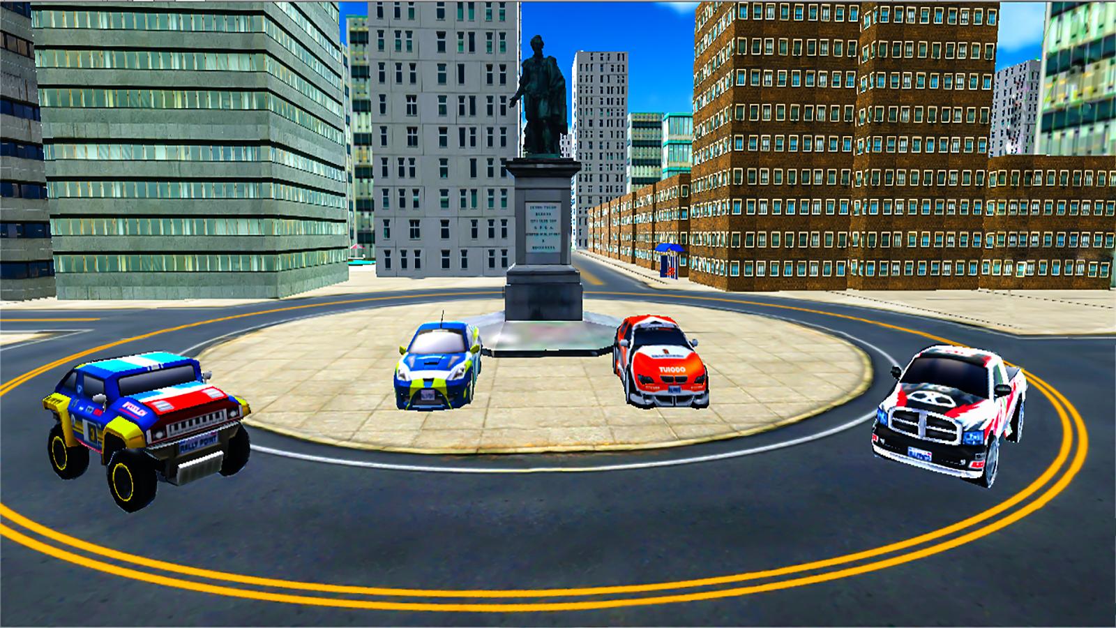 police chase hot racing car driving game screenshot