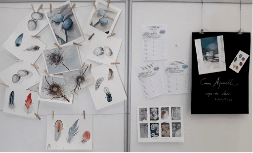Jeanne PAPA_cours Aquarelle_ Ecole Camille Varlet 2017-2018